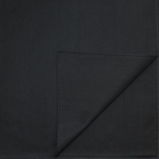 Однотонная бандана (черная)